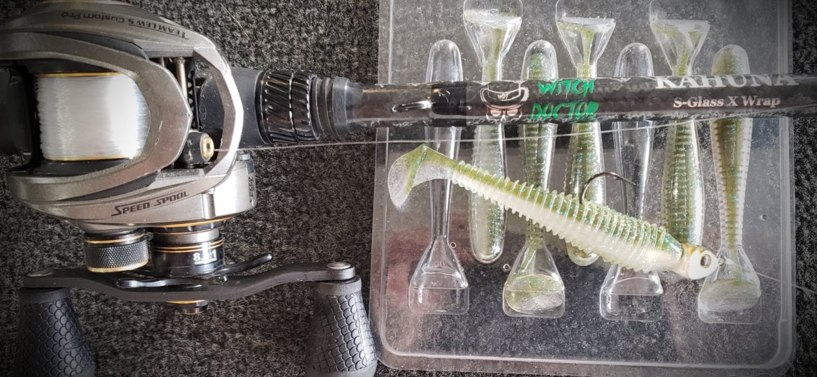 Kahuna Rod with Swimbaits