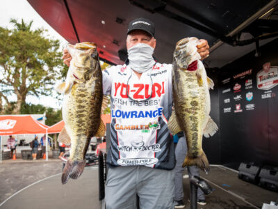 Mike Surman's 20 lb limit on day one