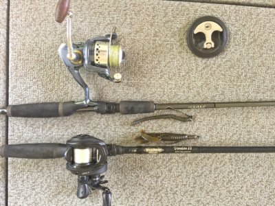 Cole Sands Rod Set Up's