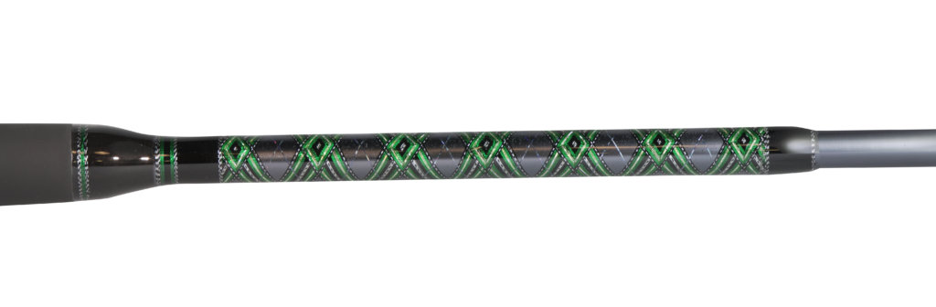 Custom Shaman Series Spinning Rod Wraps