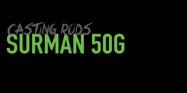 Surman 50G Casting Rods