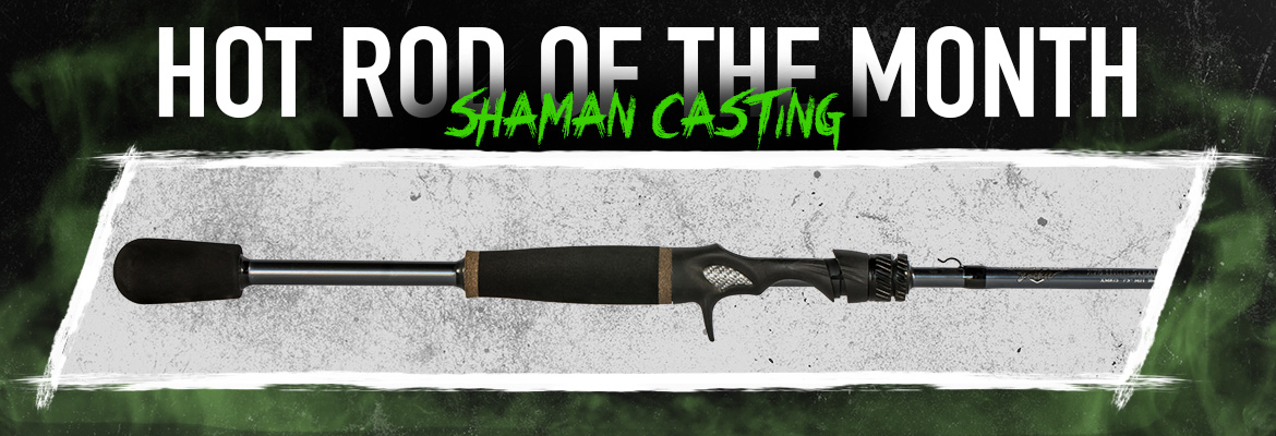 "Witch Doctor Tackle Hot Rod of the Month Shaman 6'10"" M"