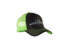 Witch Doctor Tackle Hat Grey and Green