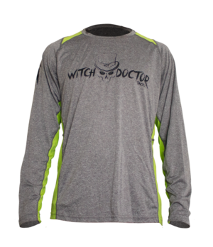 Witch Doctor Tackle Long Sleeve Shirt - front